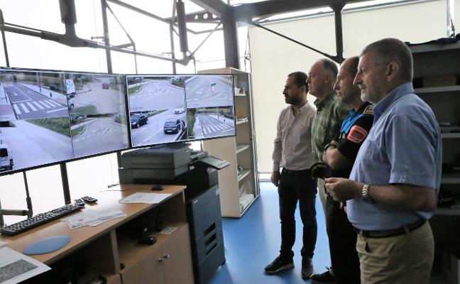 Siero estrena cámaras para controlar los accesos y mejorar la seguridad en la Pola