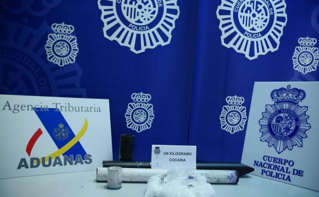 Detienen a un hombre en Llanera por traficar con cocaína oculta en piezas de maquinaria industrial