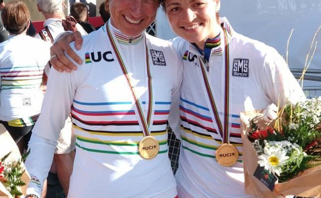 Rocío Gamonal, campeona del mundo Master-35 de Mountain Bike