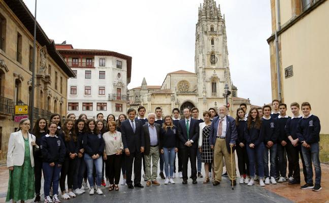 Recepción a los jóvenes mexicanos de 'Así es Asturias'
