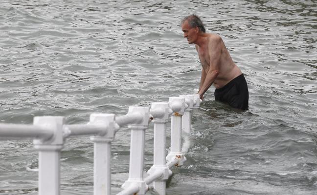 «Yo solo soy nadador de cercanías»