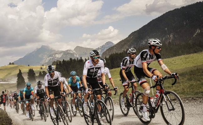 El Sky apaga la primera etapa alpina