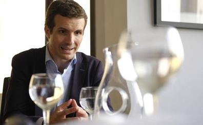 Pablo Casado: «En el PP se gana por los méritos, no por el hecho de ser hombre o mujer»