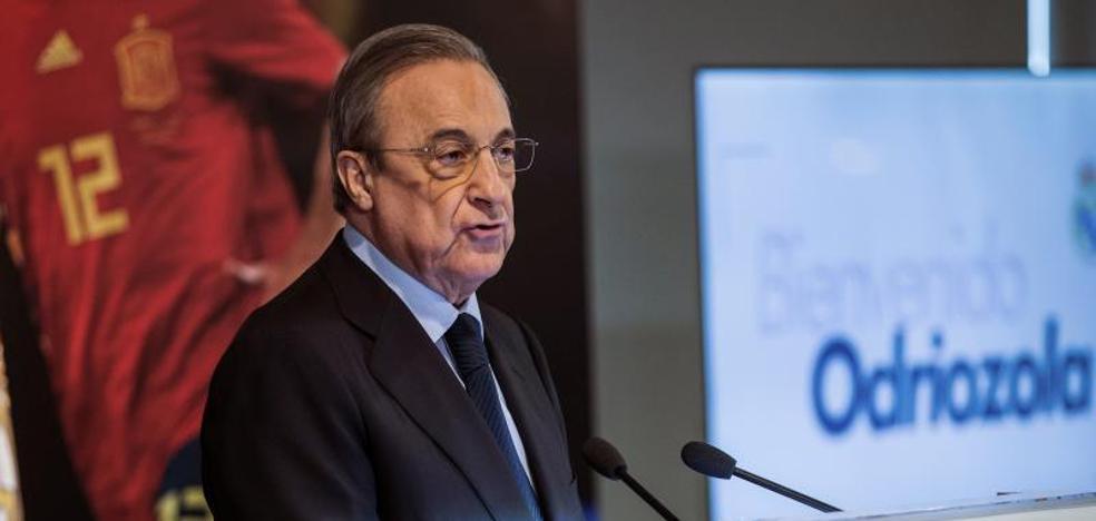 Florentino Pérez asegura que el Madrid se reforzará «con magníficos jugadores»