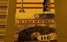 Pintadas franquistas en las sedes del PSOE, Podemos e IU