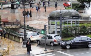 Oviedo se plantea sustituir el parking de La Escandalera por un intercambiador de autobuses