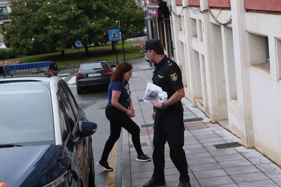 La detenida por el crimen de Lugones pasa a disposición judicial