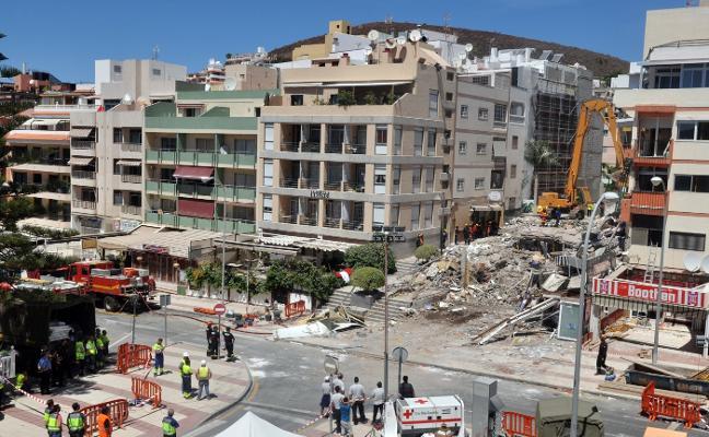Archivada la causa penal por el desplome del edificio en el que murió una avilesina en Tenerife