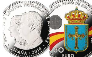 Así es la moneda conmemorativa del 1300 Aniversario del Reino de Asturias