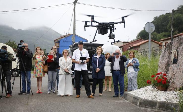 Los drones comienzan a vigilar las carreteras asturianas