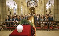 Despedida en Gijón a la esposa de Pedro de Silva