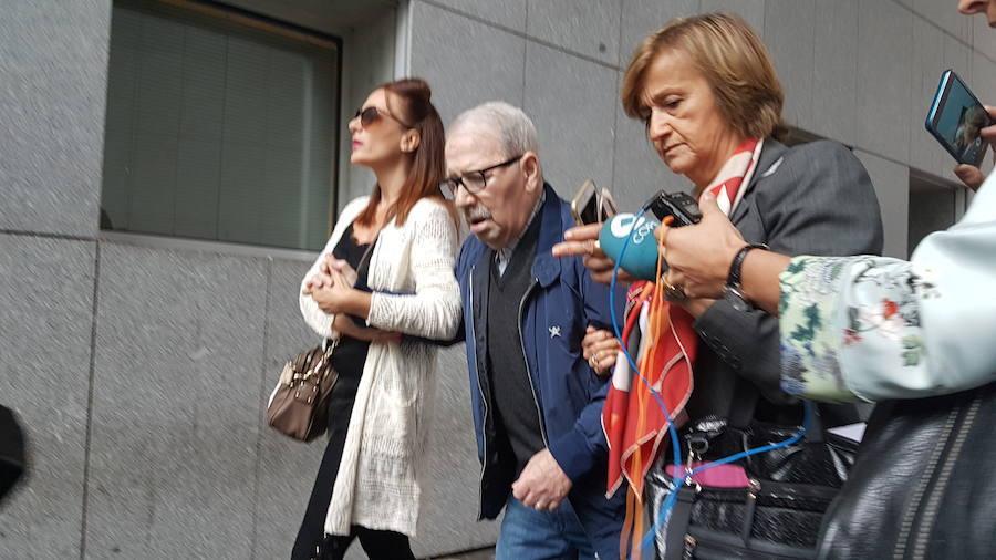 José Angel Fernández Villa, ingresado de nuevo en el HUCA