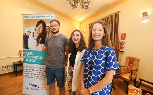 La 'protagonista del mañana' del Rotary, una alumna de 10