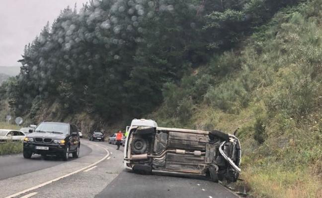 Segundo accidente en el corredor del Narcea en una semana