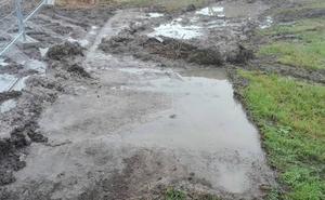 Las lluvias obligan a suspender las fiestas de la parroquia maliaya de San Justo