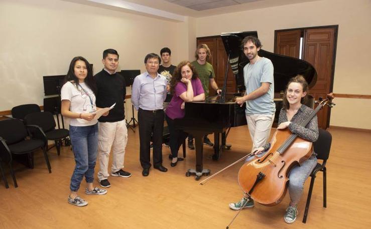 La música, lenguaje universal en la Fundación Princesa