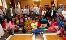 Oviedo recibe a los niños saharauis del programa Vacaciones en Paz