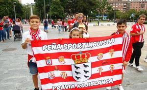 Avilés se vuelca con el Sporting y los hermanos Castro