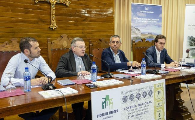 La suerte se reparte en Covadonga, con un millón de billetes dedicados a Picos