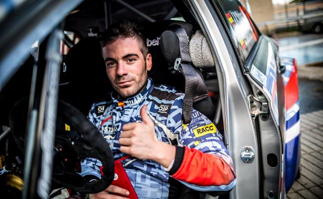 'Cohete' Suárez, al acecho del liderato en el Rally de Ferrol