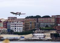 Los aviones del Festival Aéreo ya vuelan en Gijón