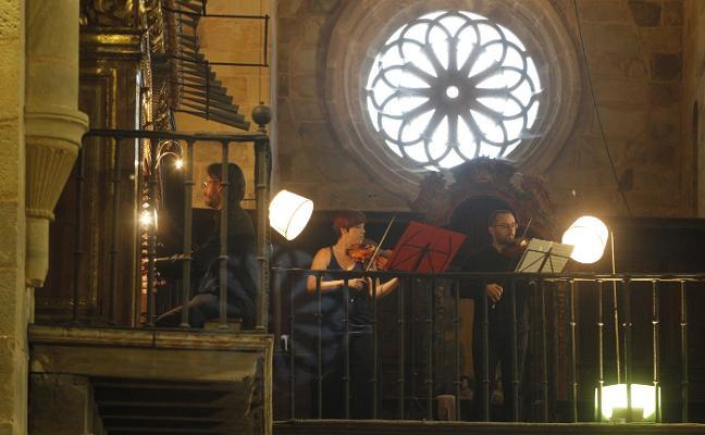 Música barroca en Valdediós