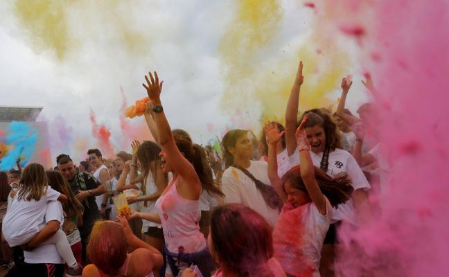 ¿Estás preparado para la 'Holi Peace' en Gijón?