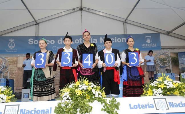 Buena suerte desde Covadonga a toda España a través del número 33.403