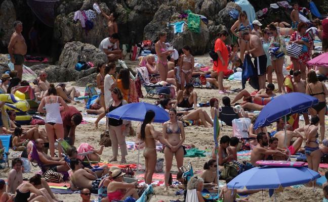 Playas sin sitio ni para aparcar