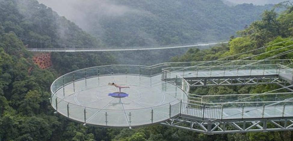¡No apto para cardíacos! Esta es la nueva atracción turística de China