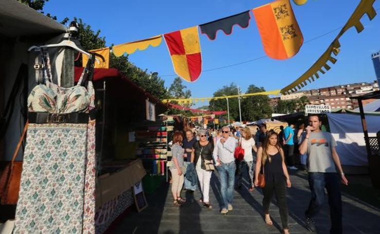 El Festival Intercéltico anima La Exposición