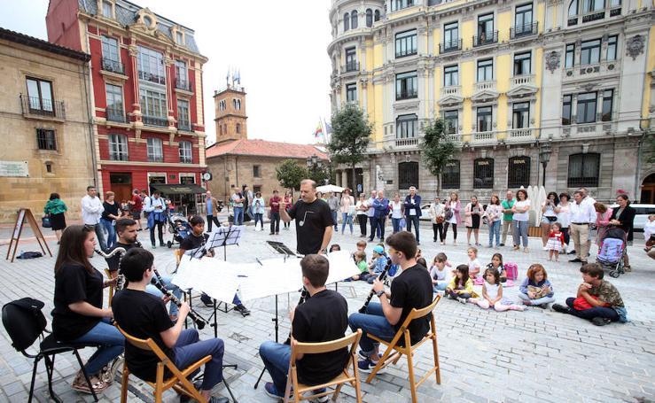 Música en la calle con la Fundación Princesa de Asturias