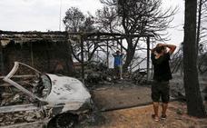 Grecia busca a los desaparecidos tras la devastadora ola de incendios