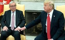 La UE y EE UU frenan la disputa del acero y se sientan a negociar un libre comercio total