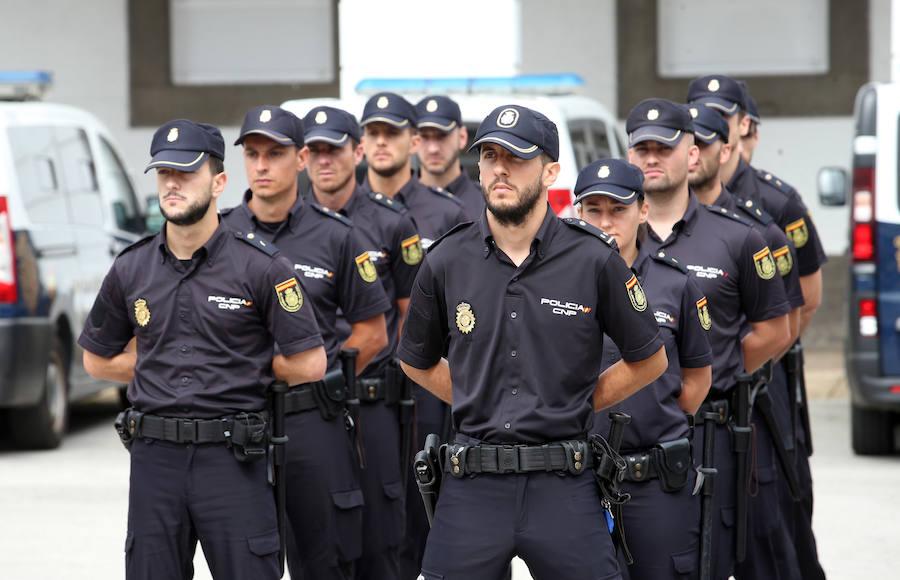 67 agentes en prácticas refuerza a la Policía Nacional en Asturias durante el verano