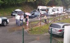 Dos heridas graves y otros dos leves en un accidente de tráfico en Las Rozas