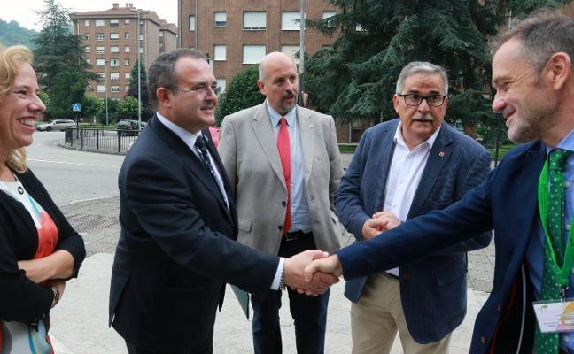 «Trataremos de que la planta de Asla para aluminio se quede en Asturias»