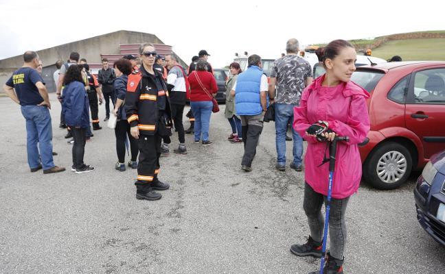 Varios testigos dicen a la Policía haber visto a la desaparecida de Contrueces