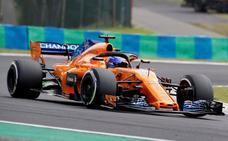 Vettel, el más rápido en los entrenamientos y Alonso, duodécimo