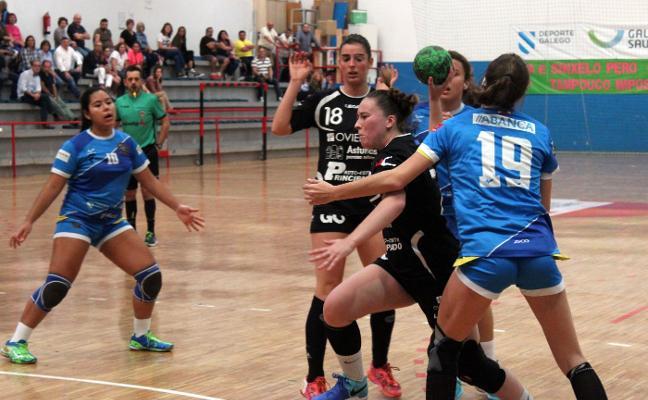 Lucía Álvarez cierra una etapa con el Oviedo Balonmano