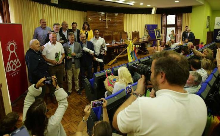 Los Amigos de Dionisio de la Huerta entregan sus premios en Covadonga
