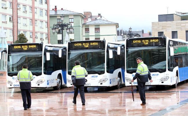 Los autobuses están bajo control