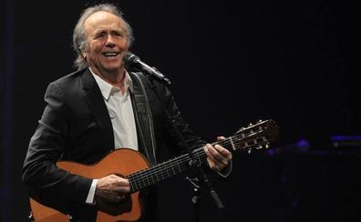Serrat cancela por una laringitis seis conciertos de su gira