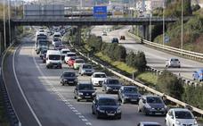 Tráfico calcula que Asturias soportará 55.000 circulaciones entre hoy y mañana