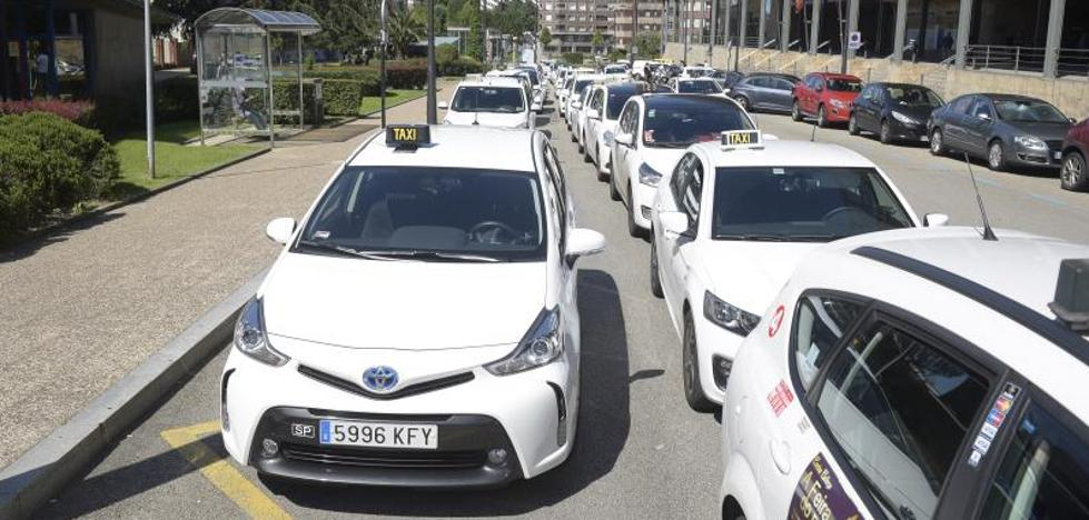 Los taxistas de Asturias inician movilizaciones