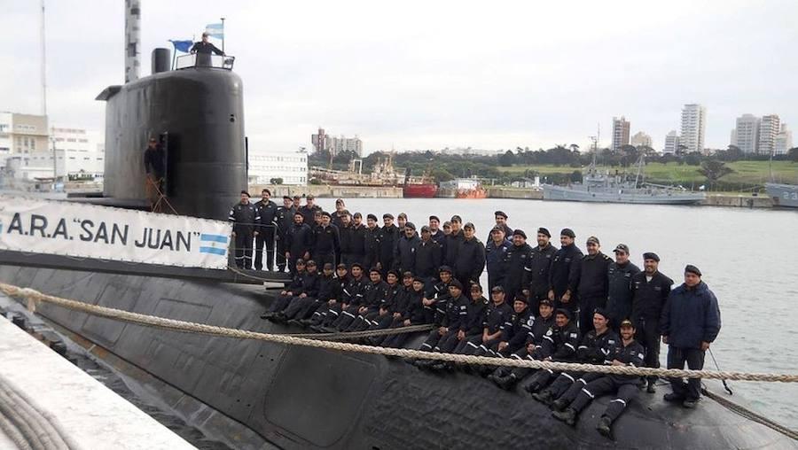 ¿Qué fue del submarino argentino ARA San Juan?
