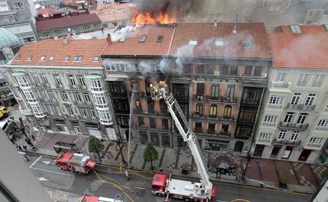 La familia del bombero fallecido en el incendio de Uría recurrirá ante el Supremo