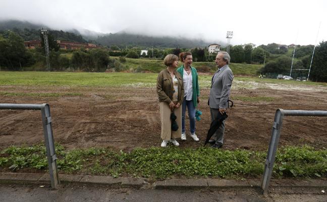 El Ayuntamiento planea mejorar los accesos al campo de rugby y su integración en el Pura Tomás