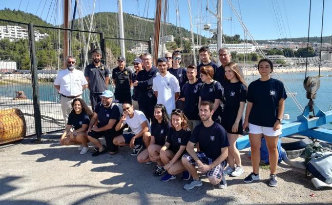 La Universidad Itinerante de la Mar embarca en goleta con rumbo a Sesimbra
