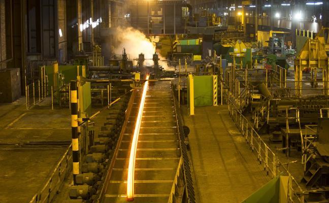 Arcelor y los sindicatos acuerdan un plan para salvar el tren de carril